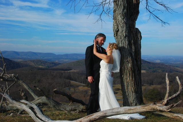 wedding on the summit of Buffalo Mountain
