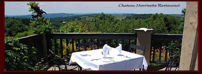 Chateau Morrisette near the Mountain Rose Inn